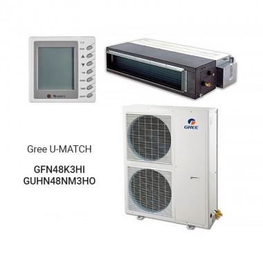 Канальный кондиционер Gree GFH48K3HI/GUHD48NK3HO U-MATCH