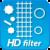 Воздушный фильтр высокой плотности